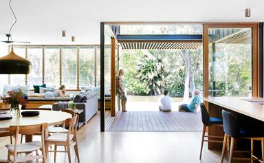 A sustainable house designed for modern family life