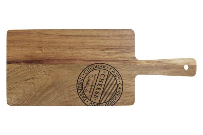 "Salt&Pepper 'Fromage' mini cheese board, $19.95, [Myer](https://www.myer.com.au/|target=""_blank""|rel=""nofollow"")."