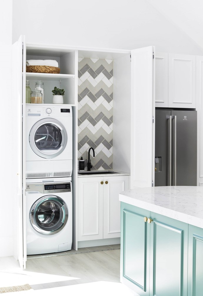 """**#laundrylove** A stacking [Electrolux](https://www.electrolux.com.au