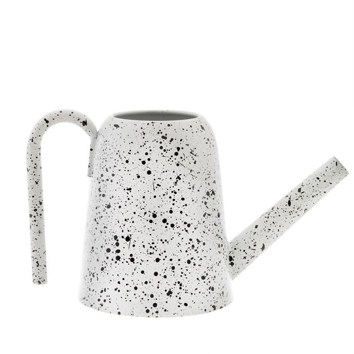"'Splatter' **watering can**, was $65, now $45.50, from [Zakkia](https://www.zakkia.com.au/watering-can-splatter|target=""_blank""|rel=""nofollow"")."