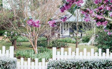 A colourful weatherboard cottage in the Southern Highlands