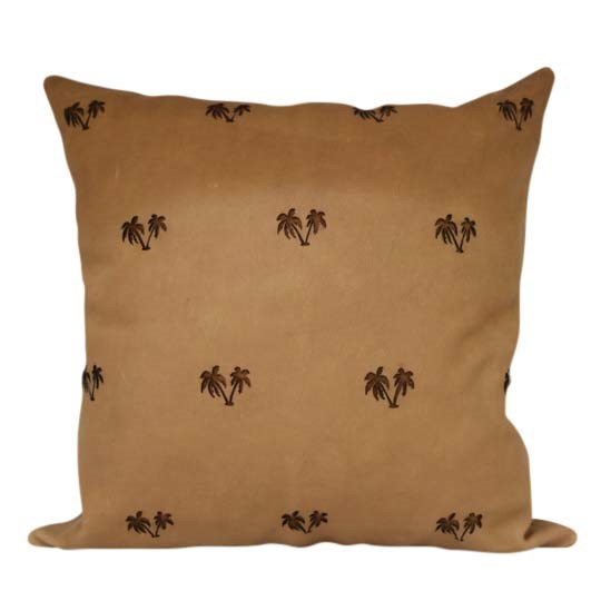 "'Mini palm' leather **cushion** in beige, $357.50, from [White Verandah](https://whiteverandah.com.au/collections/leather-cushion-covers/products/leather-mini-palm-cushion-cover|target=""_blank""