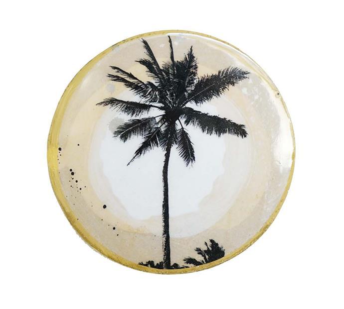 "'Single palm' mini **porthole**, $69, from [Ahoy Trader](https://ahoytrader.com/collections/mini-portholes/products/single-palm-mini-porthole|target=""_blank""|rel=""nofollow"")."