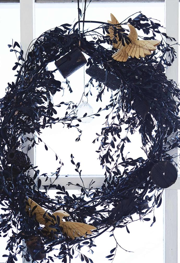 """**Customised wreath** [This wreath was made](https://www.homestolove.com.au/preview/australian-native-christmas-wreath-16632