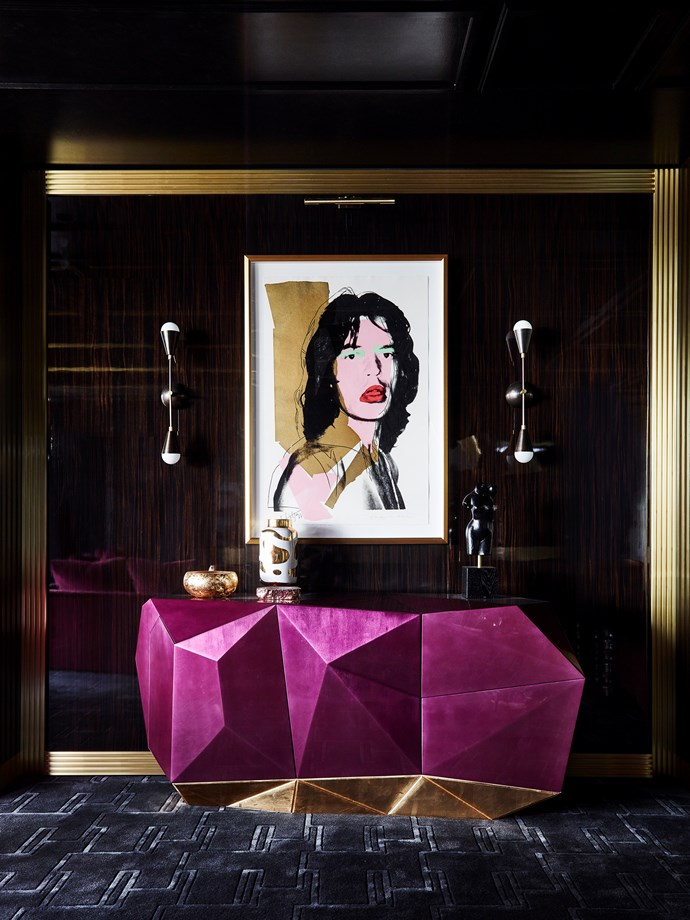 Victoria home by Greg Natale Design. Artwork by Andy Warhol. Photograph by Anson Smart. From *Belle* October 2018.