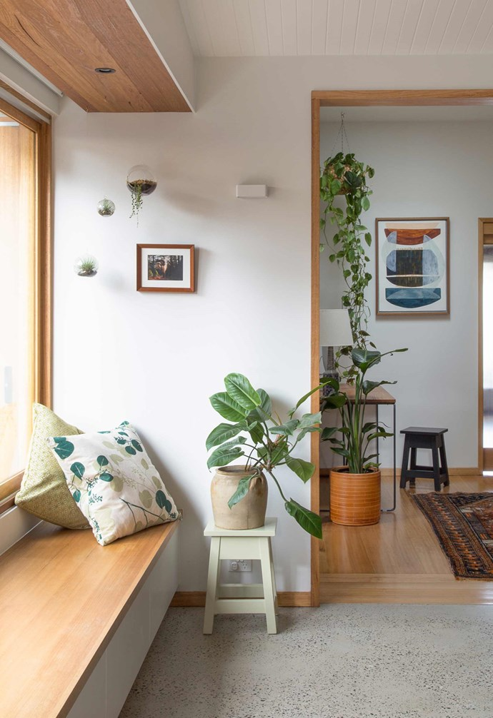 "**In-built bench** An inbuilt [window seat](https://www.homestolove.com.au/window-seats-7061|target=""_blank"") creates the perfect reading nook. *Project: [Brave New Eco](http://www.braveneweco.com.au/