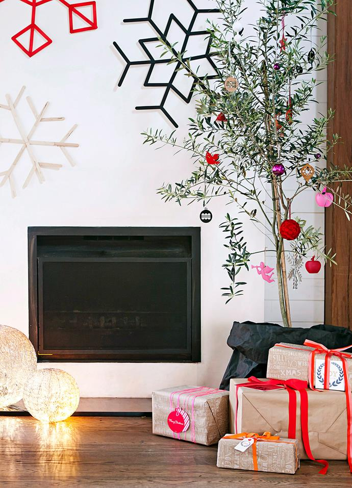Potted olive trees are a great Christmas tree alternative that can be placed back into the garden when the festive season is over. *Photo: Maree Homer / bauersyndication.com.au*