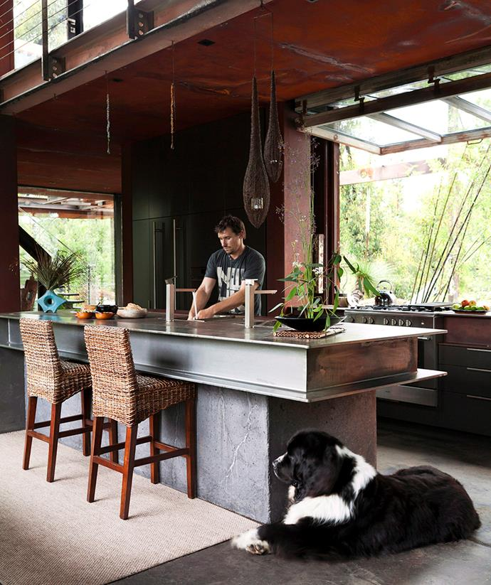 This sustainably-designed kitchen is as stylish as it is eco-friendly. *Image: Alicia Taylor / bauersyndication.com.au*