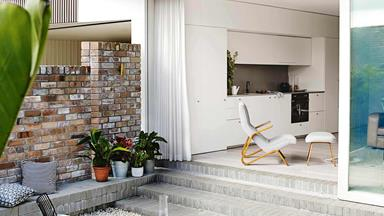 A newly built home in Balmain allows for easy multigenerational living