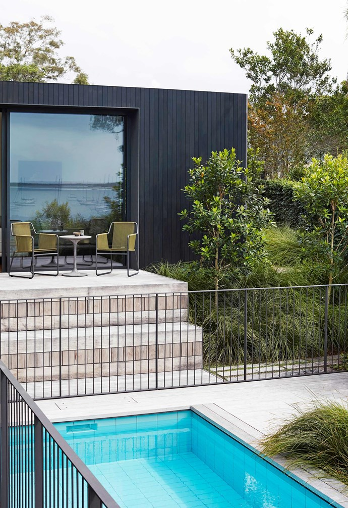 "**Exterior** Landscaping by William Dangar of [Dangar Barin Smith](https://dangarbarinsmith.com.au/|target=""_blank""