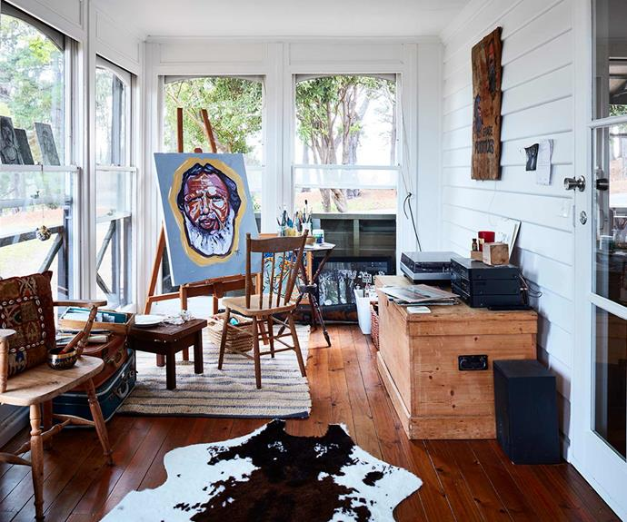 "**Studio** The cottage is the perfect retreat with a sun-filled studio allowing for creative pursuits.  *Design: [Bryant Alsop](https://www.bryantalsop.com.au/|target=""_blank""