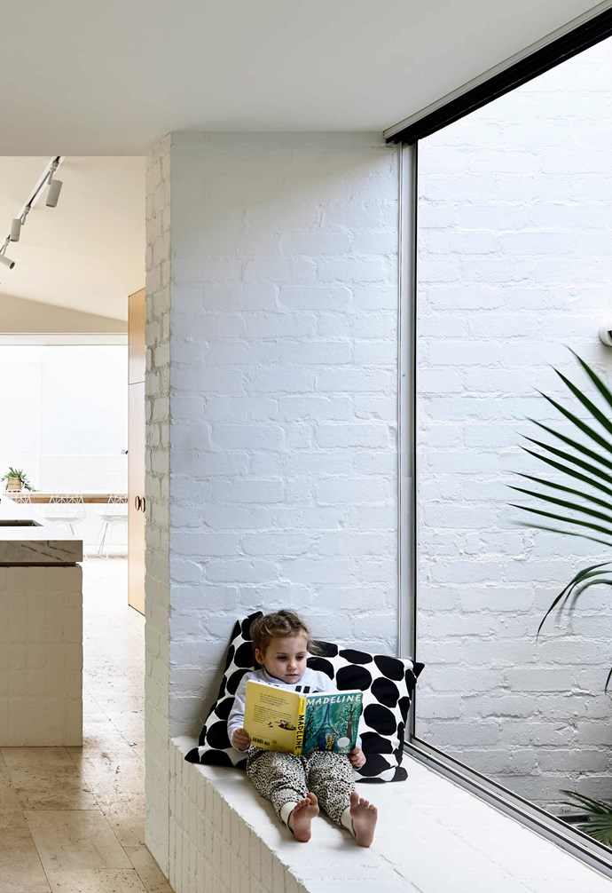 "**Nook** This [window seat](https://www.homestolove.com.au/window-seats-7061|target=""_blank"") is the perfect area to read, rest, and play in. *Design: [Kennedy Nolan](http://www.kennedynolan.com.au/