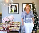 Chyka Keebaugh's Christmas table styling tips