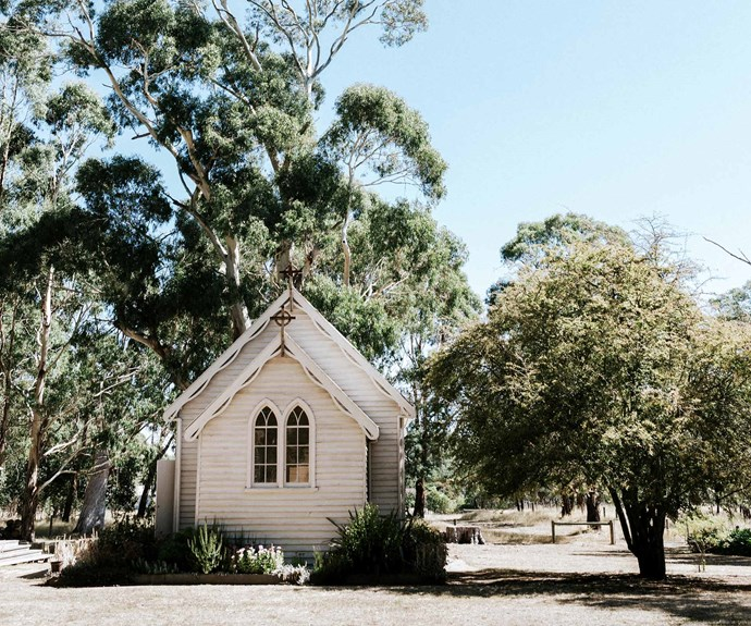 The Little Church at Spring Hill, an eco-venue with sustainable practices. | *Photography: Marnie Hawson*