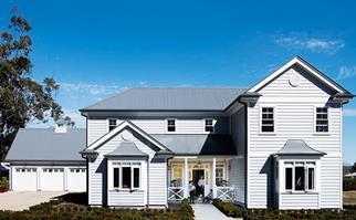 cladding Hamptons house