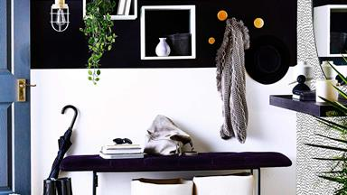 6 practical yet stylish tips for sprucing up your entryway