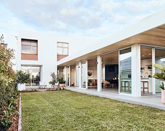 My Ideal House backyard