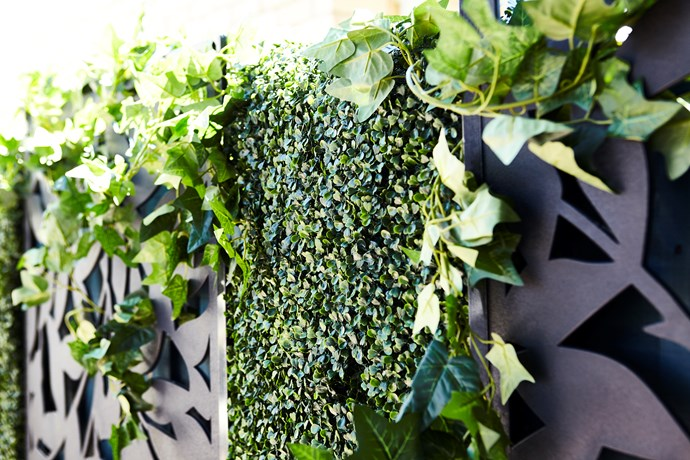 "UN-REAL 2 x 1m Artificial Expanding Hedge Trellis, $60, from [Bunnings](https://www.bunnings.com.au/un-real-2-x-1m-artificial-expanding-hedge-trellis-green-photinia-leaf_p2941543|target=""_blank""