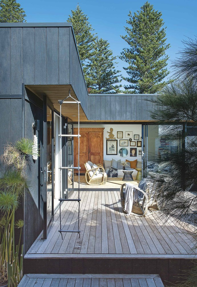"""That was 30 years ago and, before long, the couple had purchased their first property – a 1950s bungalow in the suburb of Doubleview – and quickly turned it into a happy family home following the births of their now-adult daughters Milly and Polly.<br><br>**Deck** The interior of the home comprises just 48 square metres of living space, but the central deck adds 20 square metres. [Empire Homewares](https://empirehomewares.com.au/
