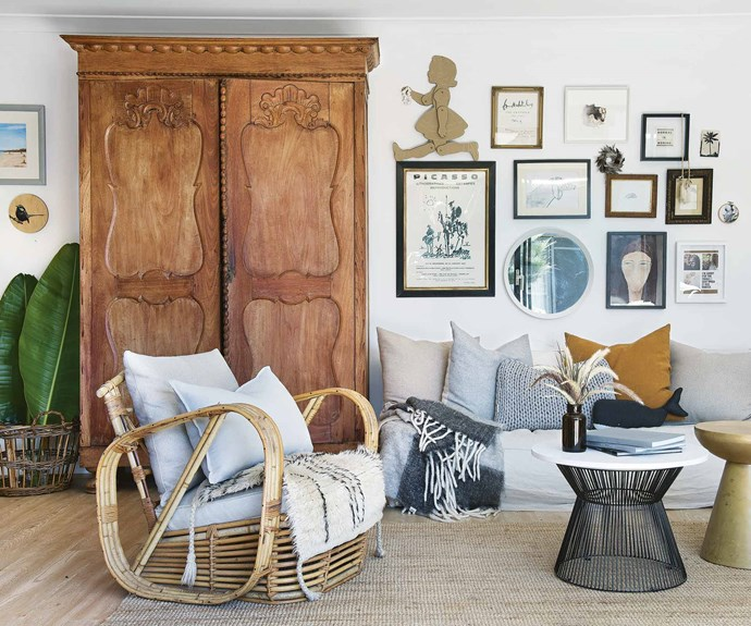 """At the same time, [Malvina began carving out a successful career as an interior stylist](https://www.homestolove.com.au/tour-this-bright-and-airy-perth-home-17078