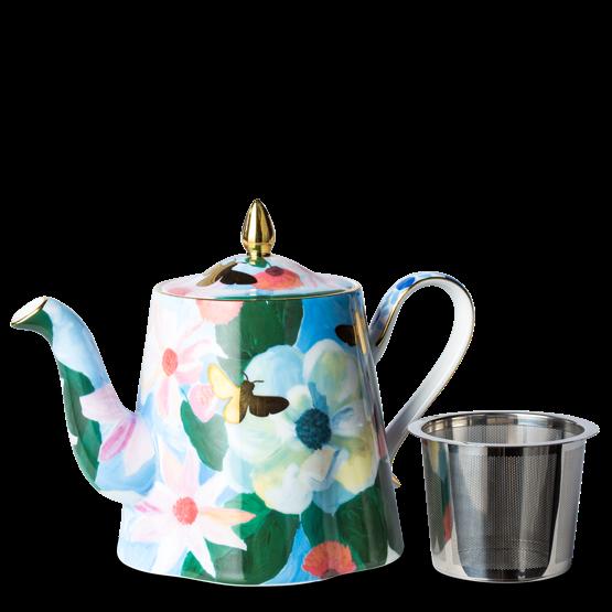 """Bonnie & Neil Magnolia Teapot, $80, [T2](https://www.t2tea.com/en/au/teawares/teapots/bonnie-neil-magnolia-teapot-TW148.html?dwvar_TW148_color=Blue-Pattern target=""""_blank"""" rel=""""nofollow"""")"""