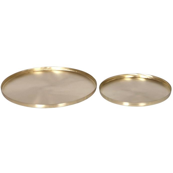"Zakkia 2 Piece Sermount Round Tray Set, $169, [Temple & Webster](https://www.templeandwebster.com.au/2-Piece-Sermount-Round-Tray-Set-ZAKI1124.html target=""_blank"" rel=""nofollow"")"