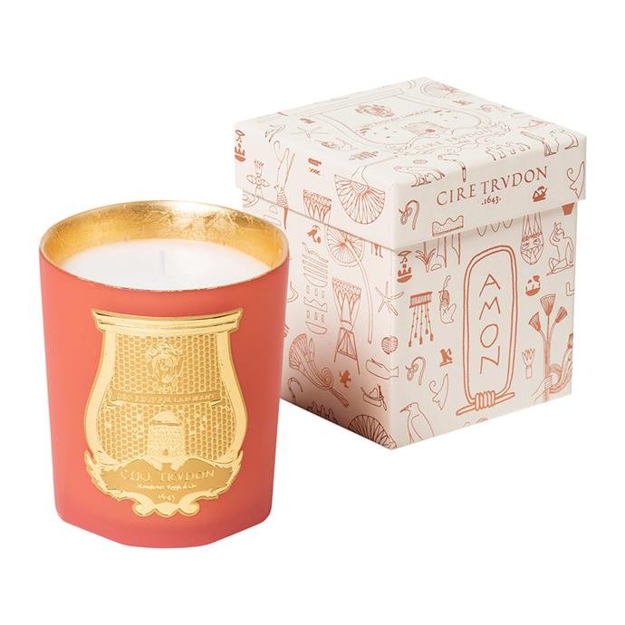 "Cire Trudon 'Amon' Scented Candle, $147, [Amara](https://fave.co/2QKnDiG |target=""_blank""