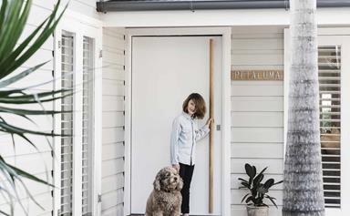 Tour bellaMumma Nikki Yazxhi's stunning renovated weatherboard home