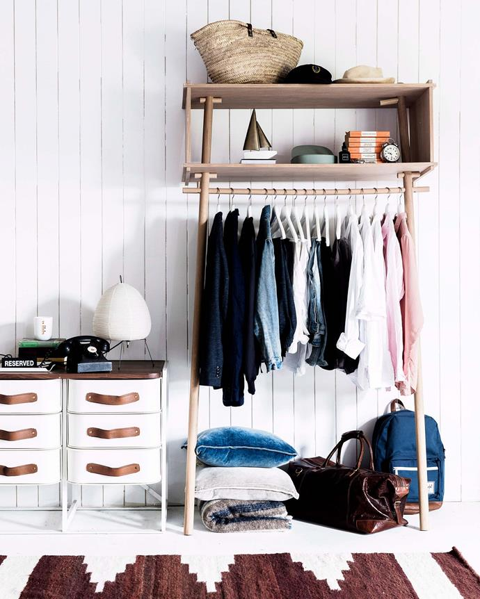 Consider designing a capsule wardrobe to minimise clothes waste, or organise a clothes swap or market stall for pieces you no longer wear. | *Photography: Maree Homer/bauersyndication.com.au*