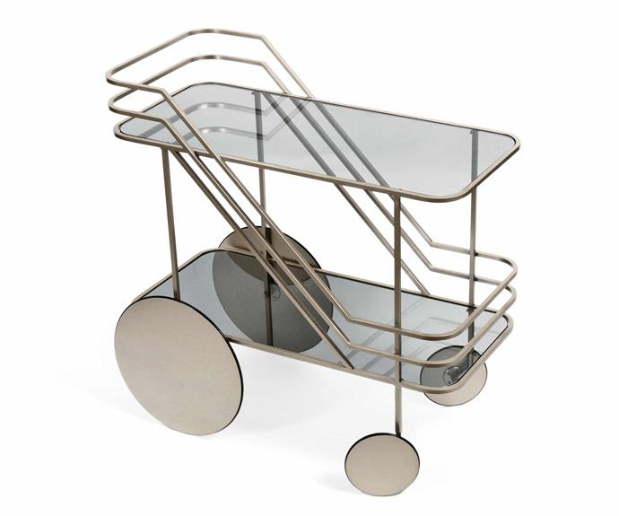 "Dante Goods And Bads 'Come As You Are' bar cart, POA, [Domo](https://www.domo.com.au/|target=""_Blank""