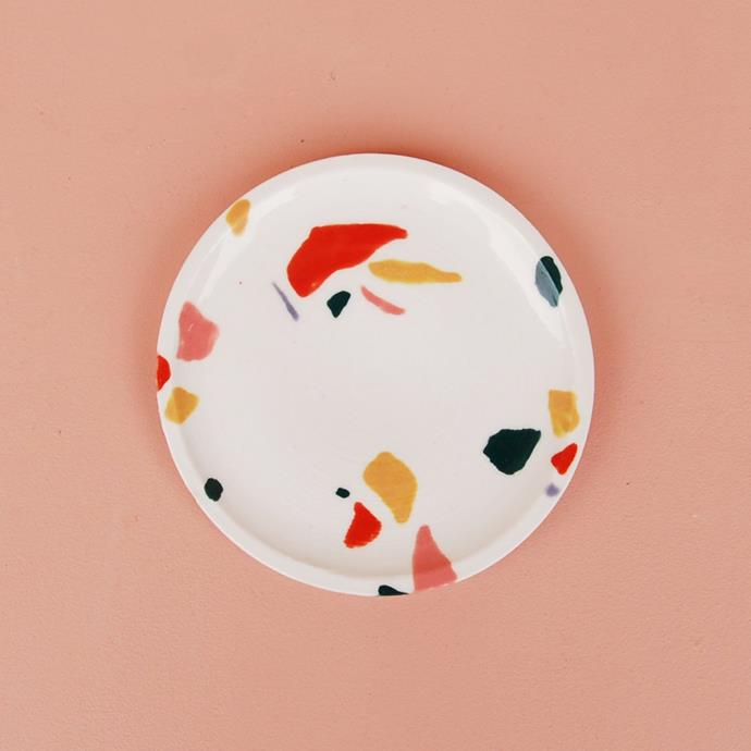 """**Terrazzo**: [Trendy terrazzo](https://www.homestolove.com.au/terrazzo-trend-2018-marble-5947