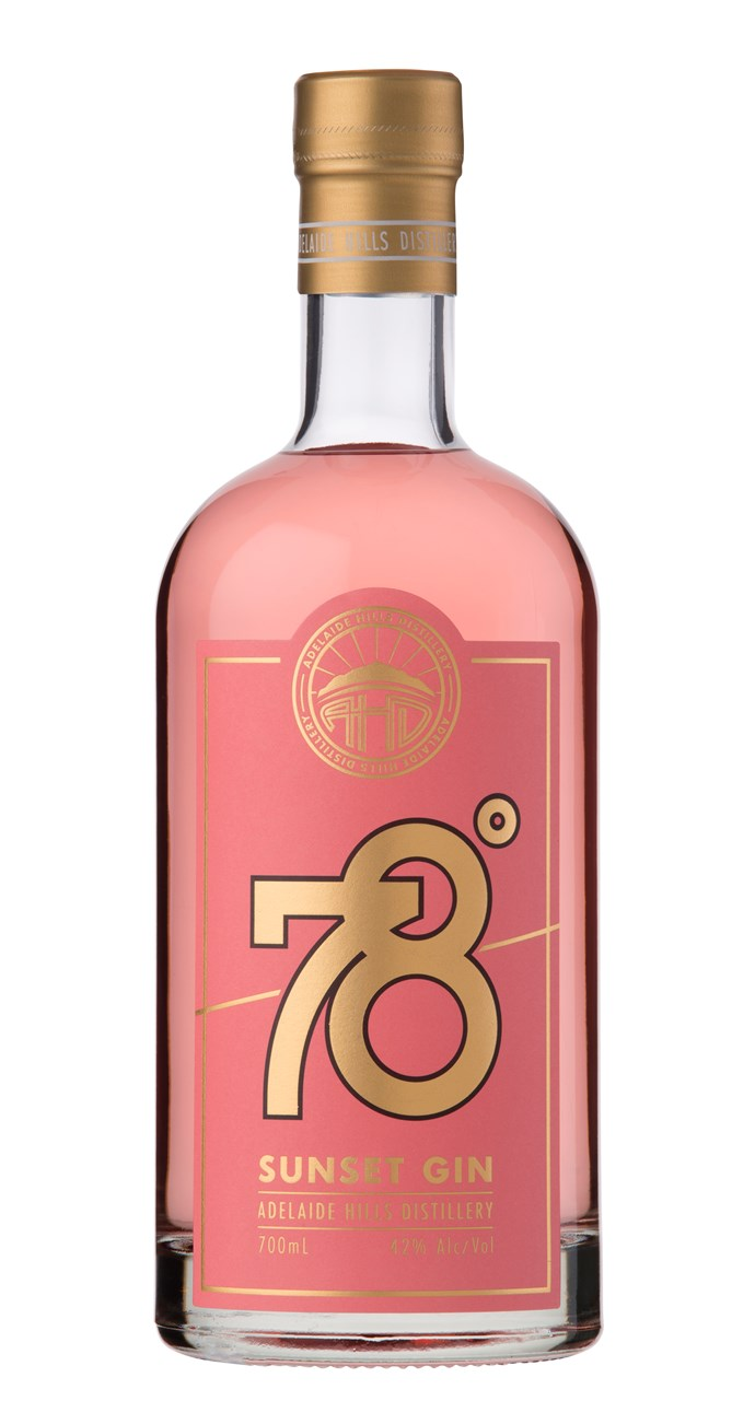 "Adelaide Hills Distillery 78 Degrees Sunset Gin 700mL, $79, [Dan Murphys](https://fave.co/2QRdGjx|target=""_blank""