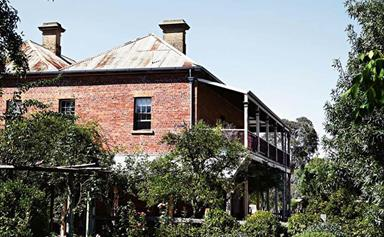 Historic homestead given new life by young family
