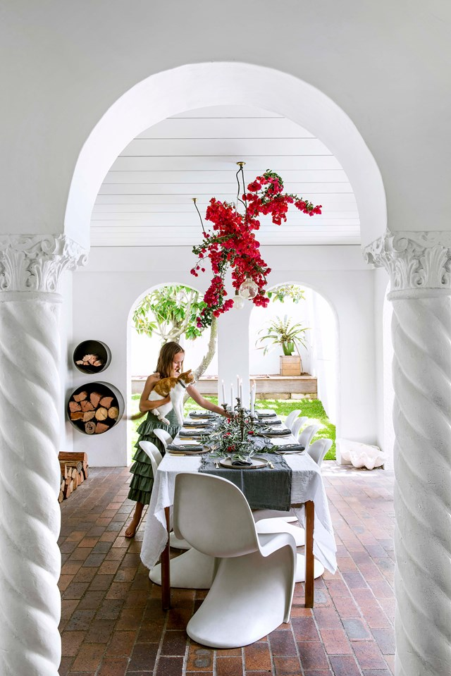 """A north-Brisbane family have poured heart and soul into their [1933 Spanish-style home](https://www.homestolove.com.au/spanish-style-home-with-courtyard-19510