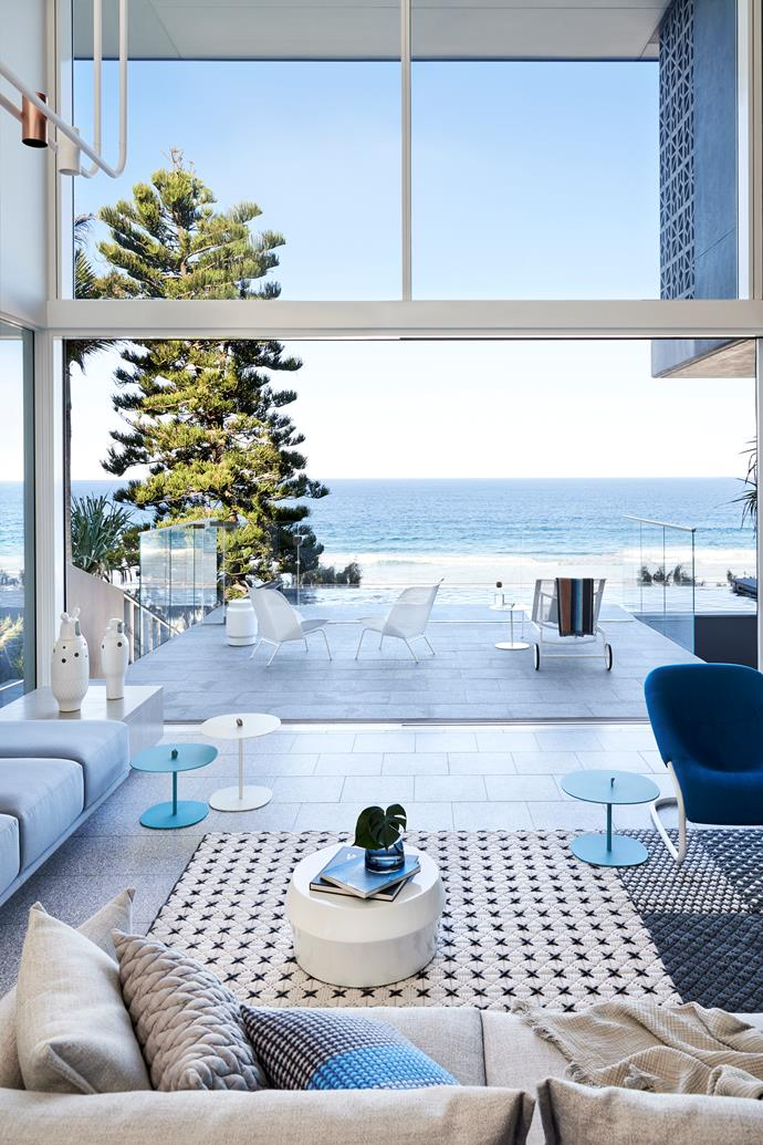 Sunshine Beach home by PopovBass. Photograph by Fiona Susanto. Styling by Emma Elizabeth. From *Belle* November 2018.