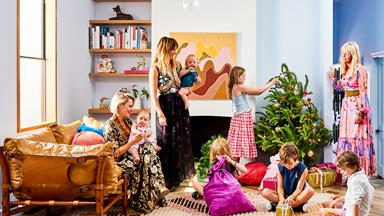 Christmas at Kip&Co co-founder Alex McCabe's colourful St Kilda home