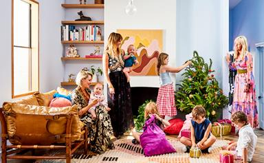 Christmas at Kip&Co co-founder Alex McCabe's colourful St Kilda home