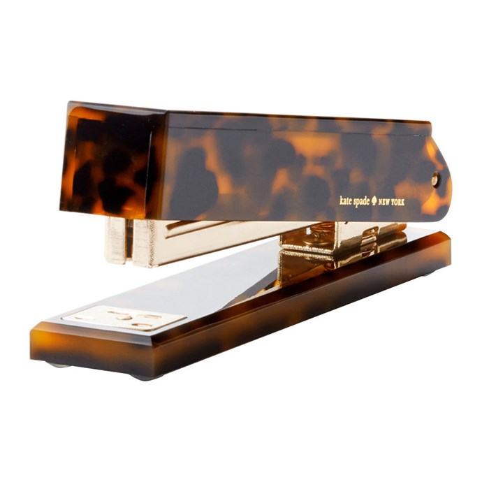 "Tortoise **stapler**, $60, from [Amara](https://fave.co/2AzBMFR|target=""_blank""|rel=""nofollow"")."