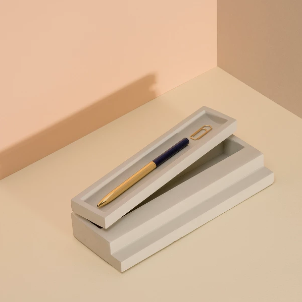 """'DOIY' Scala **pen tray**, $55, from [HardtoFind](https://fave.co/2VGgIGS