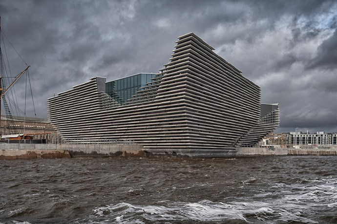 V&A  Dundee, Scotland. Photograph by Peter M Cook.