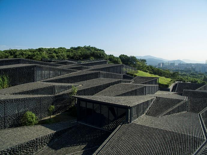 China Academy of Arts' Folk Art Museum. Photograph by Eiichi Kano.