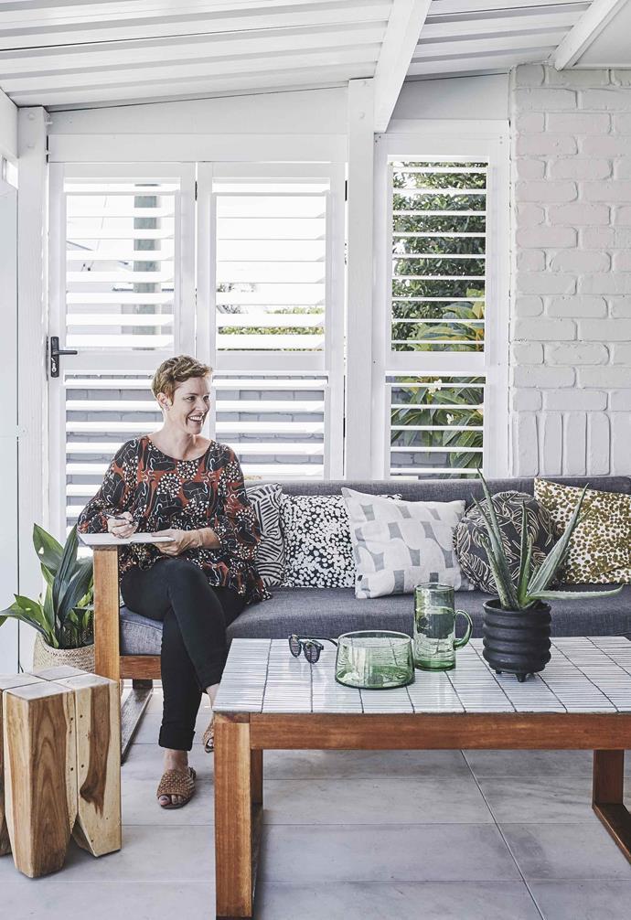 "**Patio** Outdoor sofa from [Bunnings](https://www.bunnings.com.au/|target=""_blank""|rel=""nofollow"")."