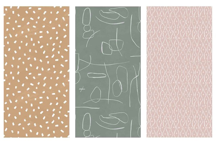 "**Wonder walls** Take style cues from this home and choose a wall covering in a colour and design to suit your taste and decor. **Get the look** (from left) 'The Strokes' wallpaper in Caramel, $72/lineal metre, 'Papier' wallpaper in Pine, $72/lineal metre, and 'Jade' wallpaper in Musk, $72/lineal metre, [These Walls](https://thesewalls.com.au/|target=""_blank""