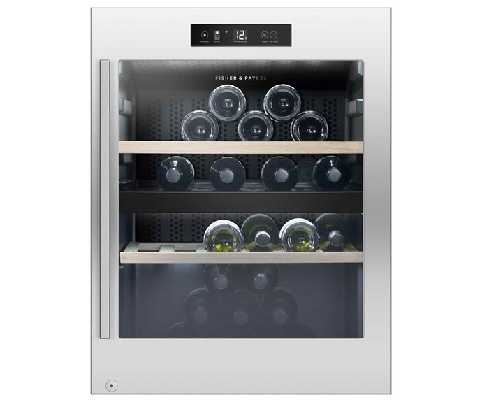 "**Fisher & Paykel wine cabinet (50 bottles, also available in 32, 83, 127 and 144)**, $2449, [Fisher & Paykel](https://www.fisherpaykel.com/au.html|target=""_blank""