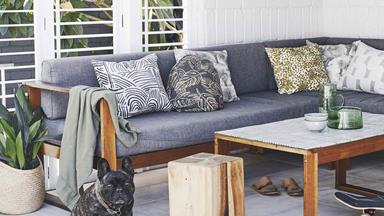 This wallpaper designer's home in Burleigh Heads is as creative as you'd expect