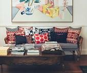 Inside Anna Spiro's colourful Brisbane home