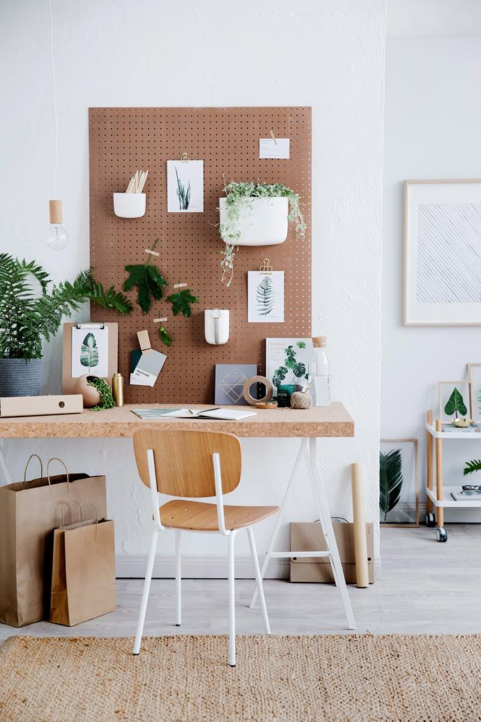 If you don't intend to use your home office for prolonged periods of time, consider choosing a stylish, simple and multi-functional dining chair. *Photo: Chris Warnes / bauersyndication.com.au*