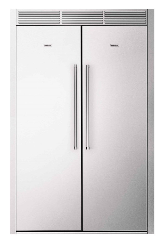 """**KitchenAid Fjord Side-By-Side Refrigerator (615L)**, $10,999, [Camberwell Electrics](https://www.camberwellelectrics.com.au/