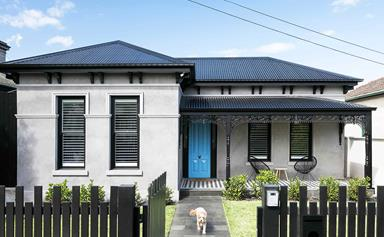A pair of reno rookies gave a century-old Elsternwick home a contemporary update