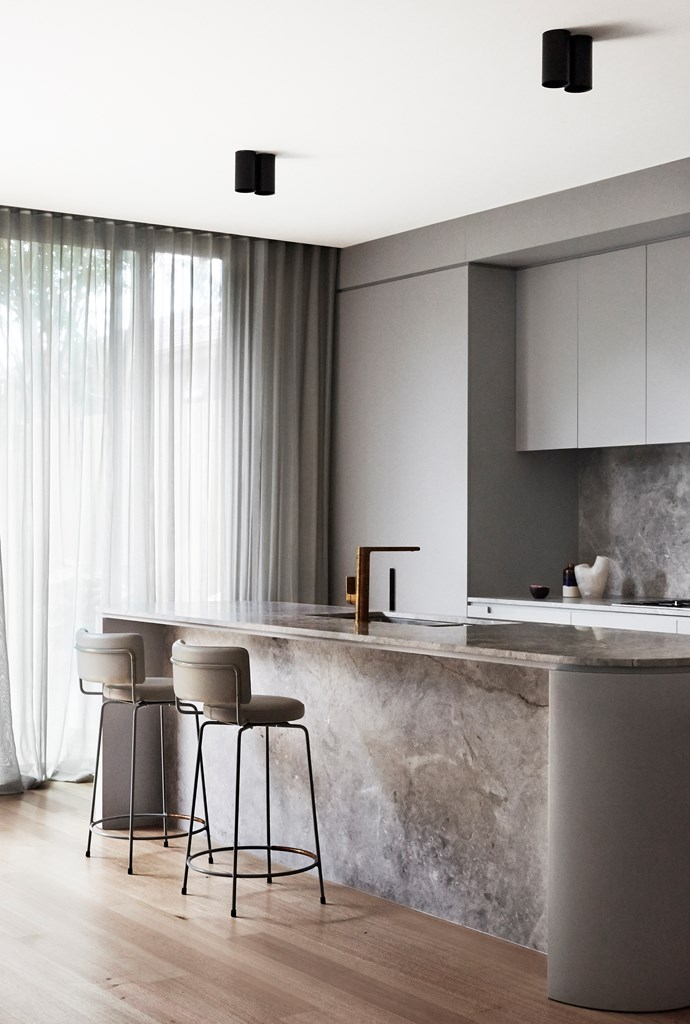 Therese Carrodus of Full of Grace Interiors transformed this small 1940s home in Melbourne's South Yarra into a sleek, high-end pad that now embodies a sense of spaciousness. Photograph: Fiona Storey.